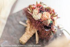 Zita Elze Design Academy Kwak Eun Seo delicate vintage bridal bouquet Wedding Master Class photo: Julian Winslow