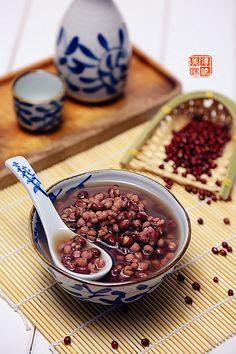 【紅豆薏仁湯】 red bean and  job's-tears dessert soup