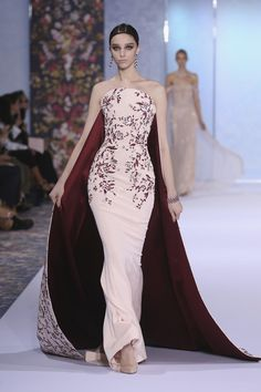 A beautiful color story and stunning embroidery.   (Ralph-Russo-Fall-2016-Couture-Collection-Paris-Fashion-Week-Tom-Lorenzo-Site)