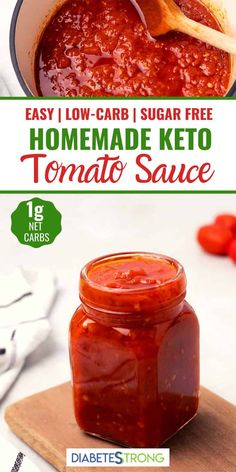 Keto Sauces, Low Carb Sauces, Pasta Sauces, Diabetic Recipes, Low Carb Recipes, Cooking Recipes, Health Recipes, Lunch Recipes, Dinner Recipes