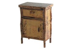 Frances Side Cabinet, Antiqued Tortoise on OneKingsLane.com