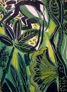 Artist / Illustrator based in Bristol, UK Primates, Mammals, Bristol Uk, Painted Leaves, African Animals, Wildlife Art, Forests, Printmaking, Monkey