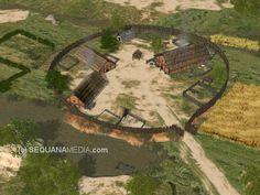 Ancient Celtic Oppidum | CELTIC FARM (3D)