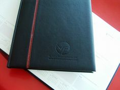Promotional Goods- Diaries for Vehicle Procurements Ltd. Black 2014 diaries blind with a blind embossed logo
