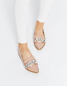 Image 1 of ASOS MOONSTONE Flat Shoes
