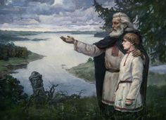 Origins Picture  (2d, realism, landscape, portrait, slavs)