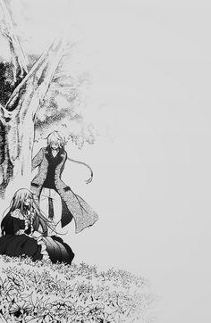 Jack Vessalius and Lacie Baskerville / Pandora hearts Anime Couples Manga, Cute Anime Couples, Manga Anime, Anime Art, Manga Girl, Anime Girls, Pandora Hearts Gilbert, Pandora Hearts Oz, Pandora Bracelets
