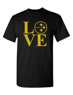 0a64ea2af steelers LOVE tee - i need this for the season Steelers Gear