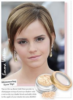 Emma Watson Makeup Inspiration! www.janeiredale.com.    Get this look at the Metro Health Cosmetic Treatment Center!