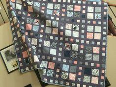 Moda Serenity Quilt Log Cabin Quilt Pattern, Quilt Patterns, Quilts, Serenity, Scrappy Quilts, Quilt Pattern, Quilt Sets, Quilting Patterns, Log Cabin Quilts