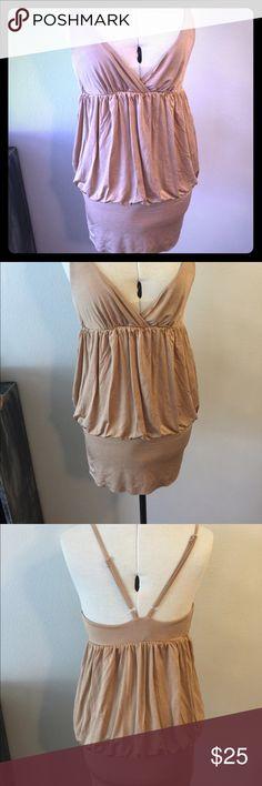 Bebe gold dress Bebe gold mini dress bebe  Dresses Mini