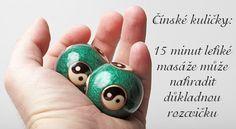 Čínské kuličky upevňují zdraví Alternative Medicine, Gemstone Rings, Gemstones, Decoration, Healthy, Fitness, Scrappy Quilts, Exercises, Decor