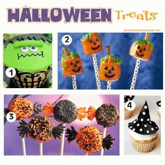 It's Written on the Wall: 23 Fabulous Halloween Treats for Parties, Lunchbox Treats and Trick or Treaters