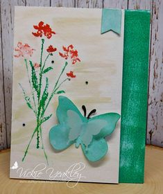 WT680 DD9ABC5E Emerald Watercolor vky by Vickie Y - at Splitcoaststampers