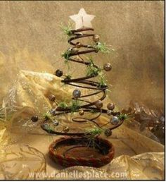 Bedspring Christmas Tree