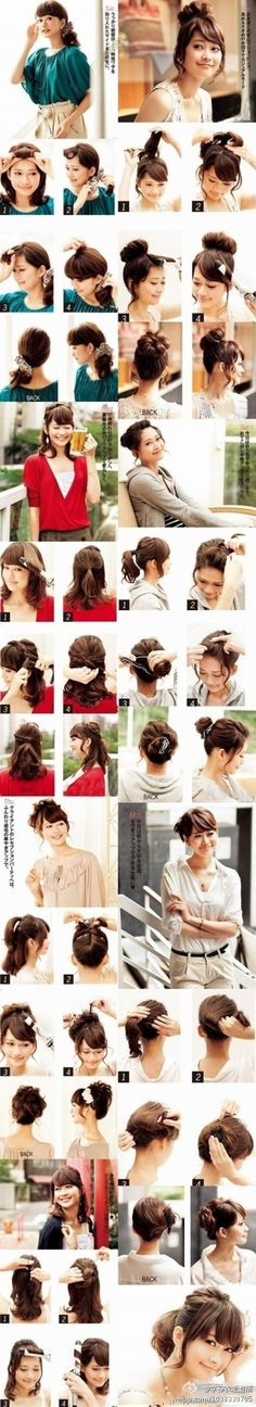 how to tie your hair for that casual but elegant look