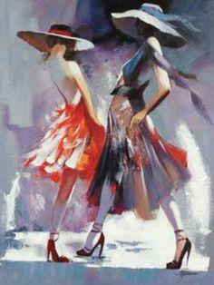 Dancing girls - Willem Haenraets