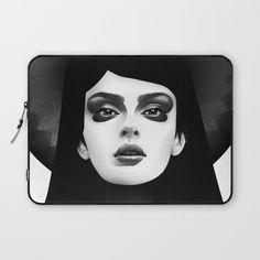 Morning Star Laptop Sleeve, Ruben Ireland art, Ruben Ireland laptop sleeve, trend laptop sleeve, art laptop sleeve, black & white laptop sleeve, art print laptop sleeve