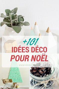 101+ idées pour la décoration de Noël