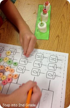 Marshmallow Place Value (from Step into 2nd Grade with Mrs. Lemons)