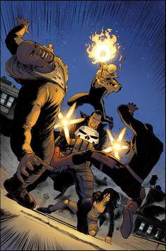 Marvel prepara enfrentamiento entre los Defenders y Punisher   Cinescape