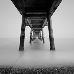 The classic 'under the pier' shot from Deal in Kent. It was very bright and hazy that day, so not the most ideal conditions for longer exposures. However, when the sun did shine through it created some nice shadows under the pier so quite happy with