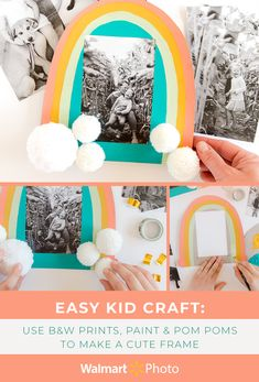 Craft Activities For Kids, Projects For Kids, Preschool Activities, Diy For Kids, Craft Projects, Help Kids, Diy Crafts To Do, Baby Crafts, Frame Crafts