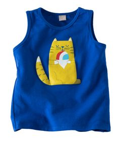 Your kiddo will be one cool kitty in this 100% cotton tank with design by Hallmark artists. Available exclusively at Hallmarkbaby.com.