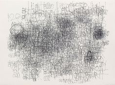 "Dan Miller, Untitled, 2006, Felt-tip pen on paper, 22 x 30"", The Museum of Modern Art, New York"