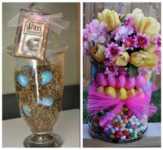 cute Easter centerpiece ideas