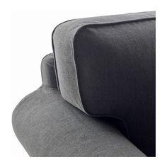 EKTORP Armchair - Nordvalla dark grey - IKEA
