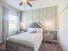 Highland Homes' Willow II with Loft model home in Lakeland, Florida. Open Living Area, Living Spaces, Creative Kids Rooms, Double Entry Doors, Highland Homes, Floor Layout, Bedroom Pictures, Garden Tub, Kids Bedroom
