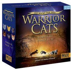 Hörbuch: Warrior Cats - Die Macht Der Drei. Folge 1-6  Von Erin Hunter, Audiobooki w języku niemieckim