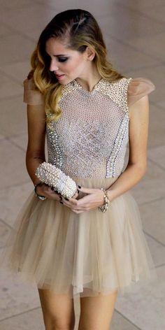 embellished dress.