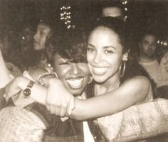 Missy Elliot and Aaliyah