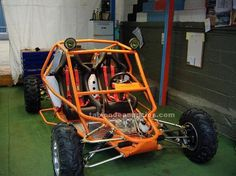 Foto de Kart-cross de 2 plazas motor honda 1000 cc Go Kart Buggy, Off Road Buggy, Build A Go Kart, Kart Cross, Go Kart Frame, Homemade Go Kart, Go Kart Parts, Motos Honda, Bike Engine