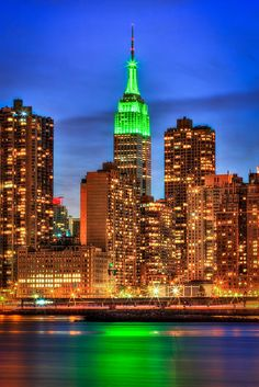 The Empire State Building at night | Flickr - Photo Sharing!