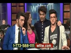 """This is literally one of my favorite """"interviews"""" with Il VOLO! A MUST WATCH FOR ALL ILVOLOVERS! Il Volo at the Chicago PBS Broadcast"""