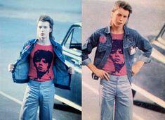 A 16 anos Sid Vicious curso antigo para um concerto de David Bowie no Earls Court 1973