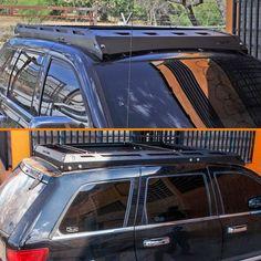 Roof Rack For Jeep Grand Cherokee Wk Rack De Techo Para Jeep Grand Cherokee Wk Ecotechne Jeep Grandcherokee Wk C Jeep Wk Jeep Grand Cherokee Jeep Grand