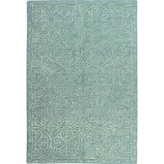 You'll love the Garrettsville Hand-Tufted Teal Area Rug at Wayfair - Great Deals on all Rugs products with Free Shipping on most stuff, even the big stuff.
