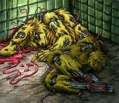 Bloodrabbit / FNaF 3 by Mizuki-T-A.deviantart.com on @DeviantArt
