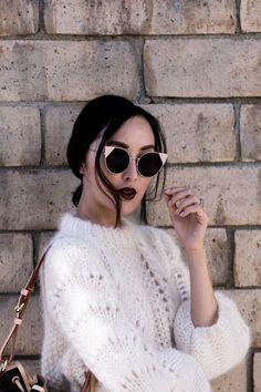 Eine Sonnenbrille pimpt deinen Look auf