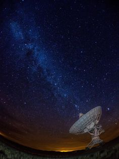 Milky Way Broadcast (by Rob Knight)