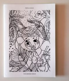 Paint the Jungle Zine for Children by Amanda by PaiorfaEditorial