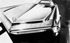 "Cadillac concept rendering - Charles M. ""Chuck"" Jordan"