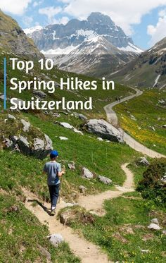 Our Zurich family's top suggestions for spring hiking in Switzerland. Informations About Top 10 Spring Hikes in Switzerland Switzerland Summer, Places In Switzerland, Switzerland Vacation, Visit Switzerland, Swiss Switzerland, Hiking Routes, Hiking Europe, Hiking Trails, Suiza Zurich