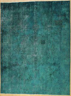 Wunderschöner Perser Teppich Vintage Handgeknüpfte alfombra 388 x 291 Patchwork