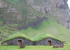 Iceland's Historic Turf Houses: The Eco-Homes of the Future?