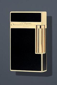 Amazon.com  S.T. Dupont Ligne 2 Lacquer Lighter - Black Gold 16884  Health    Personal Care 898b9762d9